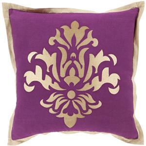 """Surya Pillows 18"""" x 18"""" Decorative Pillow"""