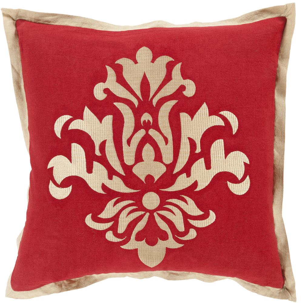 "Surya Rugs Pillows 20"" x 20"" Decorative Pillow - Item Number: CT005-2020P"