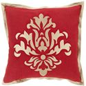"Surya Pillows 20"" x 20"" Decorative Pillow - Item Number: CT005-2020P"