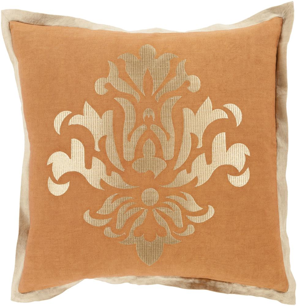 """Surya Rugs Pillows 22"""" x 22"""" Decorative Pillow - Item Number: CT006-2222P"""