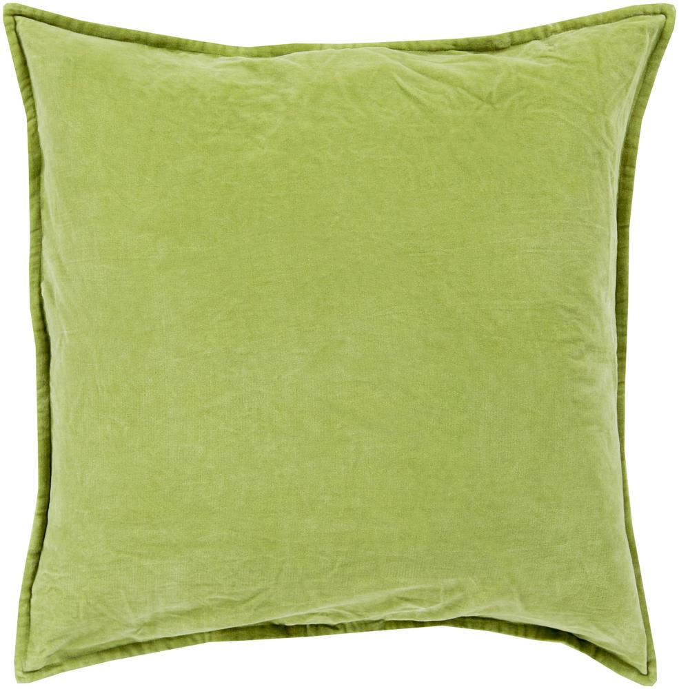 "Surya Pillows 18"" x 18"" Cotton Velvet Pillow - Item Number: CV001-1818P"