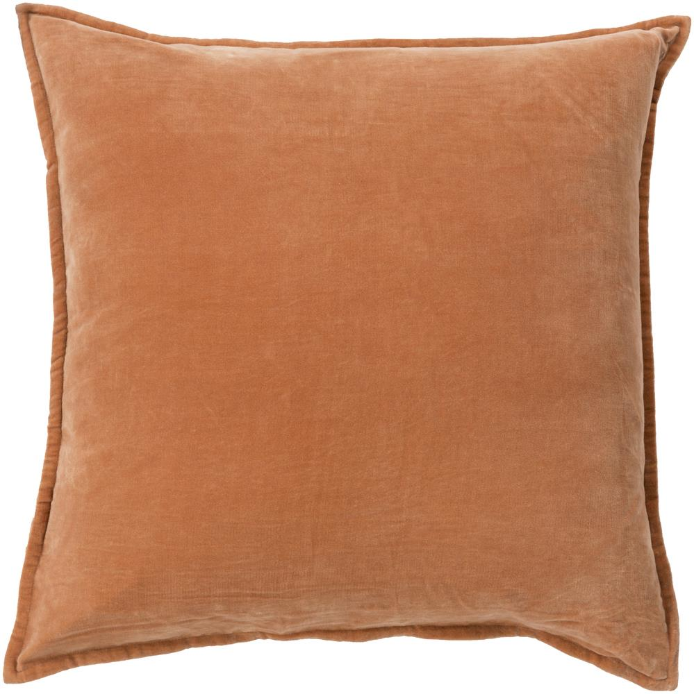 "Surya Pillows 20"" x 20"" Cotton Velvet Pillow - Item Number: CV002-2020P"