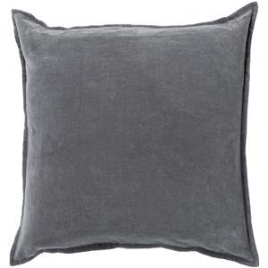 "Surya Pillows 18"" x 18"" Cotton Velvet Pillow"