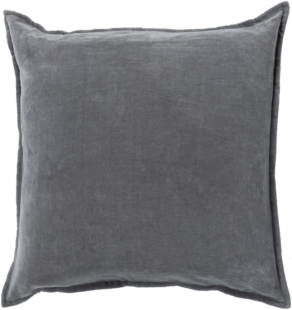 "Surya Pillows 22"" x 22"" Cotton Velvet Pillow - Item Number: CV003-2222P"