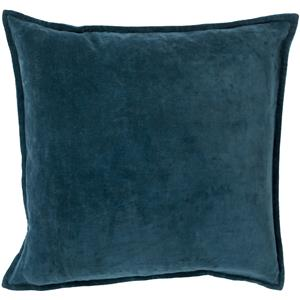 "Surya Rugs Pillows 18"" x 18"" Cotton Velvet Pillow"