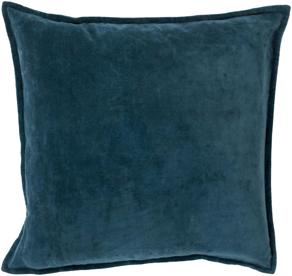 "Surya Pillows 20"" x 20"" Cotton Velvet Pillow - Item Number: CV004-2020P"