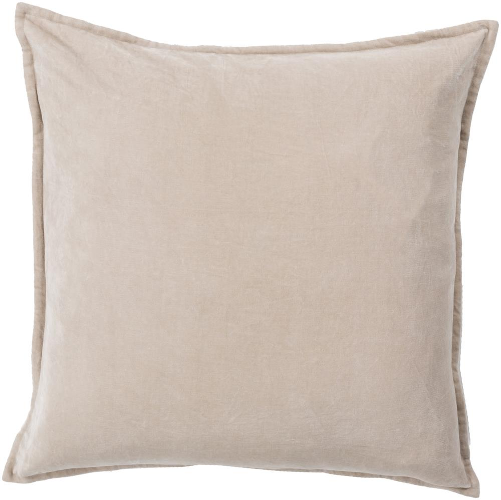 "Surya Pillows 18"" x 18"" Cotton Velvet Pillow - Item Number: CV005-1818P"
