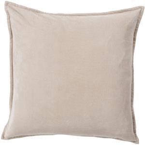 """20"""" x 20"""" Cotton Velvet Pillow"""