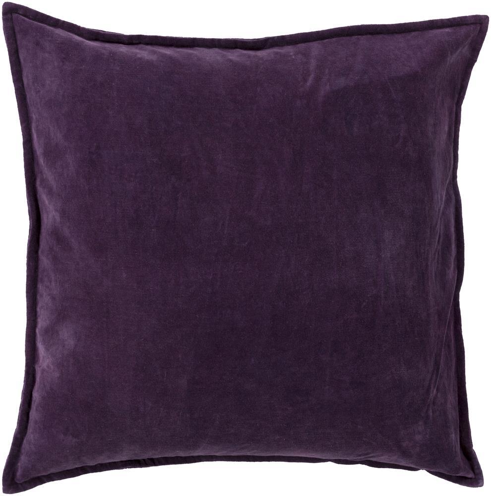 "Surya Pillows 20"" x 20"" Cotton Velvet Pillow - Item Number: CV006-2020P"