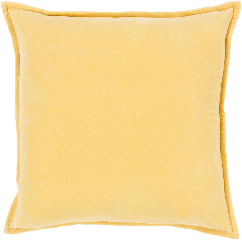 "Surya Rugs Pillows 22"" x 22"" Cotton Velvet Pillow - Item Number: CV007-2222P"