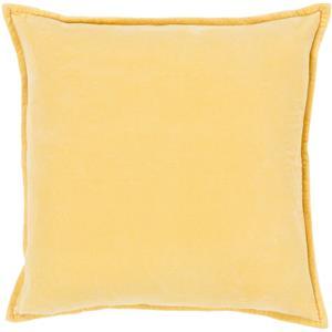 "Surya Pillows 22"" x 22"" Cotton Velvet Pillow"