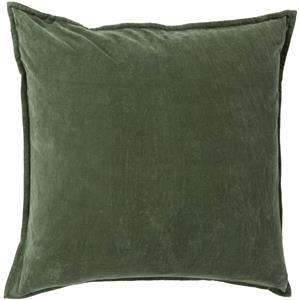 "18"" x 18"" Cotton Velvet Pillow"