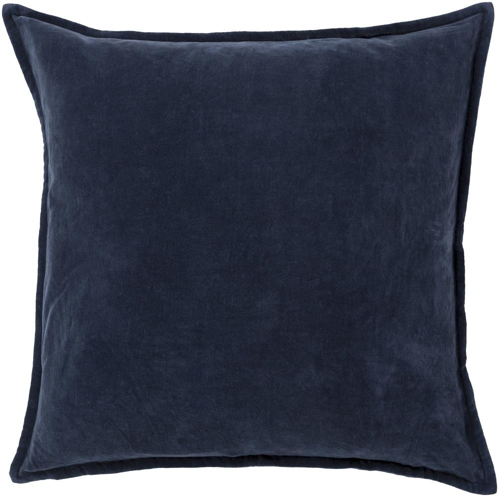 "Surya Pillows 18"" x 18"" Cotton Velvet Pillow - Item Number: CV009-1818P"