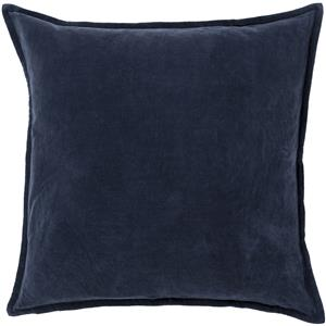 "Surya Pillows 22"" x 22"" Cotton Velvet Pillow"