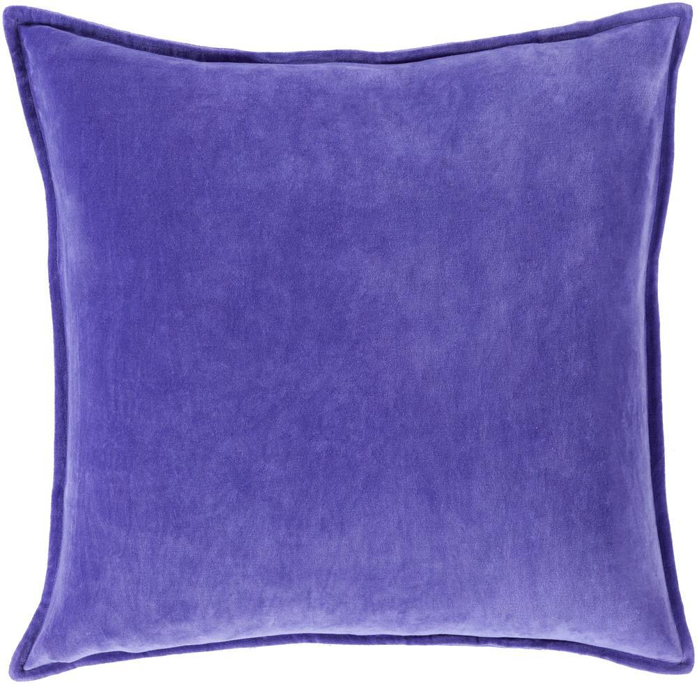 """Surya Pillows 18"""" x 18"""" Decorative Pillow - Item Number: CV017-1818P"""