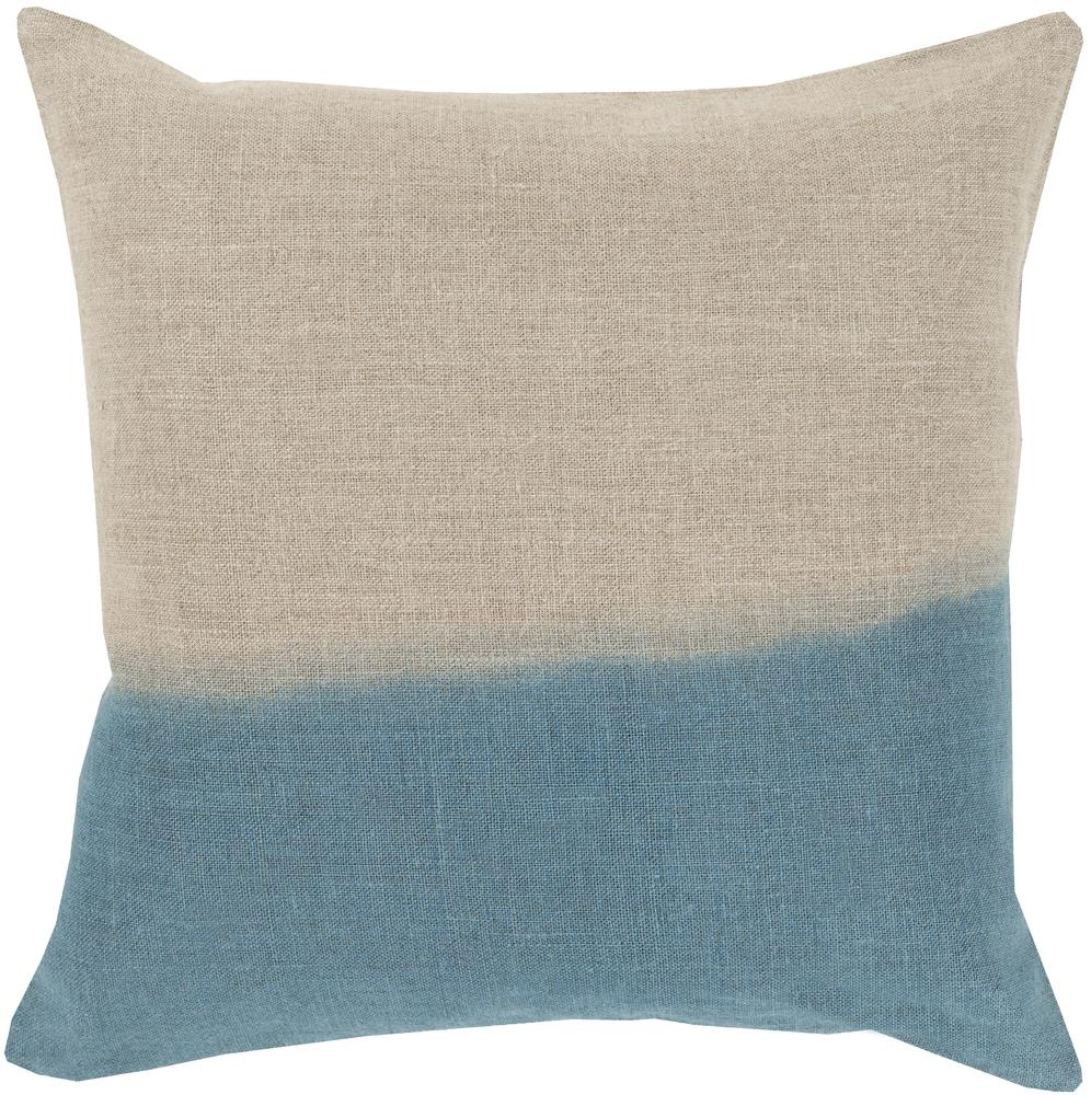 "Surya Rugs Pillows 18"" x 18"" Dip Dyed Pillow - Item Number: DD010-1818P"