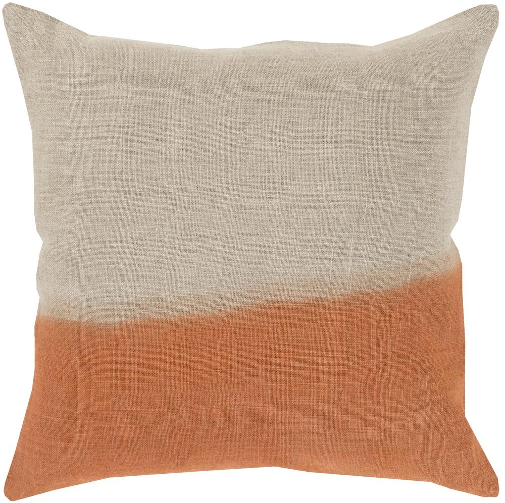 "Surya Rugs Pillows 18"" x 18"" Dip Dyed Pillow - Item Number: DD012-1818P"