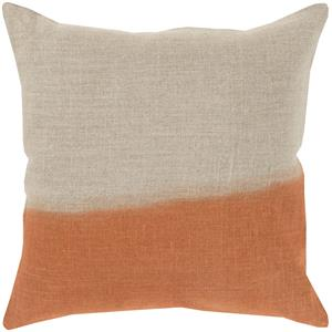 "Surya Rugs Pillows 18"" x 18"" Dip Dyed Pillow"