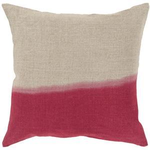 """Surya Rugs Pillows 20"""" x 20"""" Dip Dyed Pillow"""