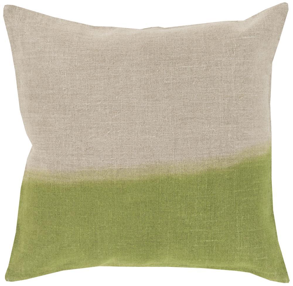 """Surya Pillows 22"""" x 22"""" Dip Dyed Pillow - Item Number: DD015-2222P"""