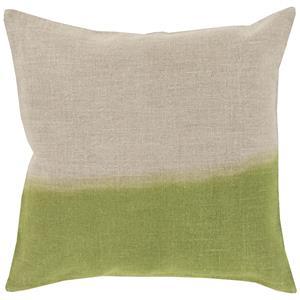 """Surya Rugs Pillows 22"""" x 22"""" Dip Dyed Pillow"""