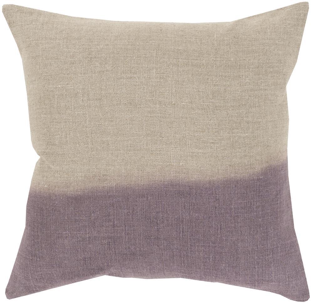 """Surya Pillows 22"""" x 22"""" Dip Dyed Pillow - Item Number: DD016-2222P"""