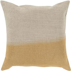 "Surya Rugs Pillows 22"" x 22"" Dip Dyed Pillow"