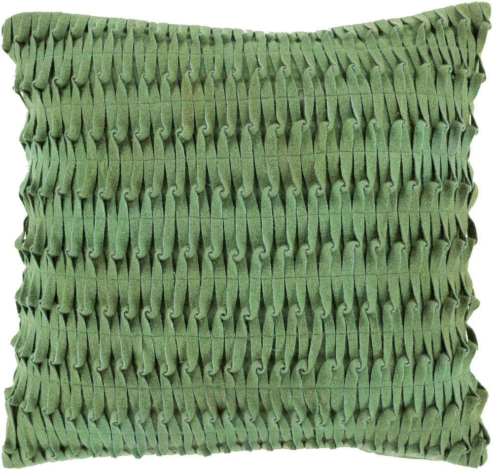 "Surya Pillows 20"" x 20"" Decorative Pillow - Item Number: ED001-2020P"