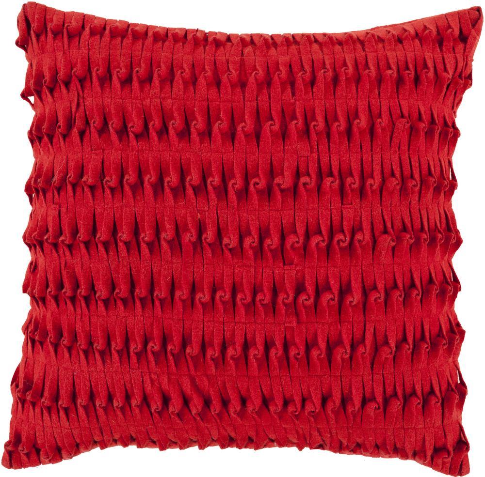 """Surya Pillows 18"""" x 18"""" Decorative Pillow - Item Number: ED003-1818P"""