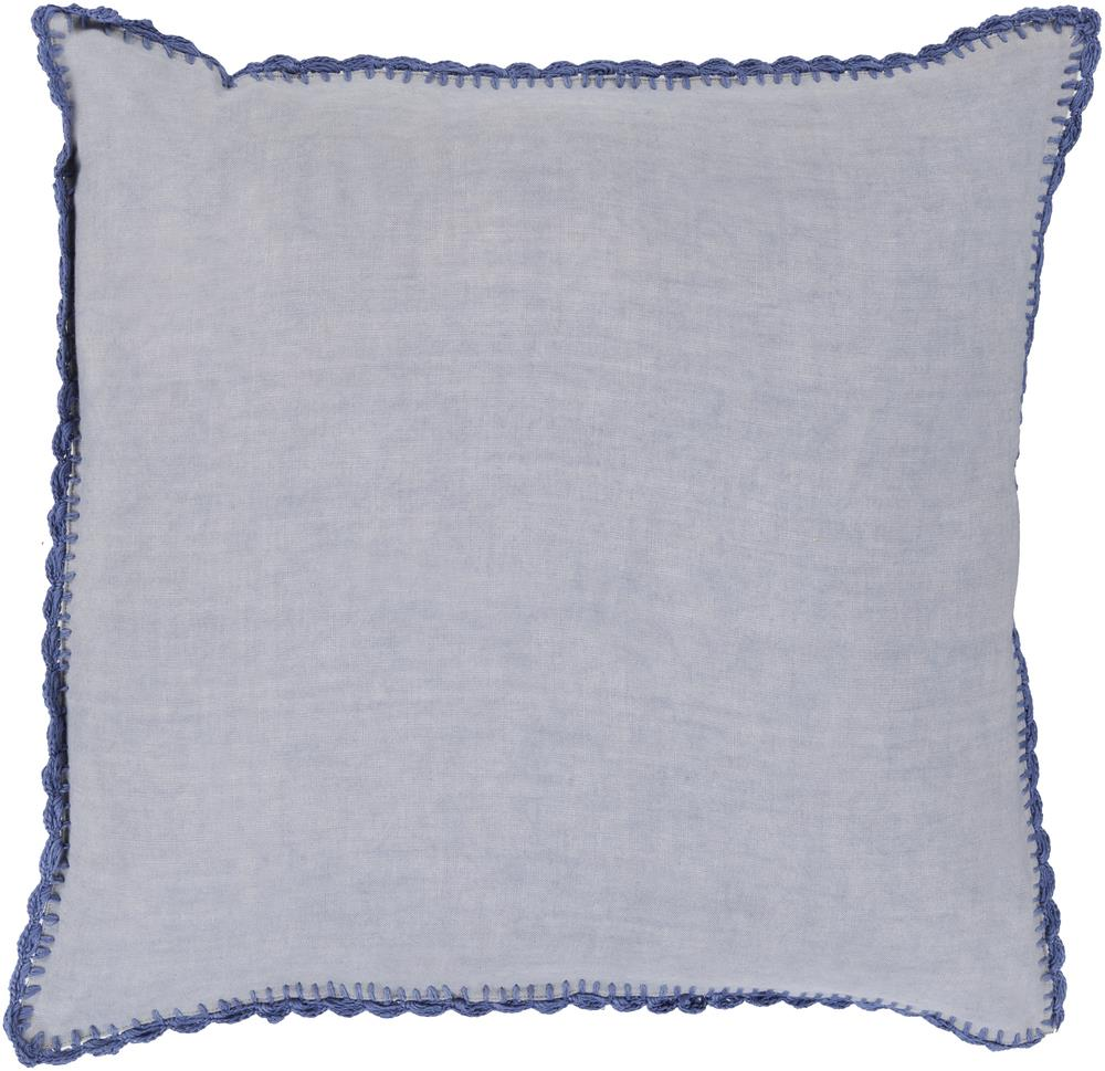 "Surya Pillows 22"" x 22"" Decorative Pillow - Item Number: EL001-2222P"