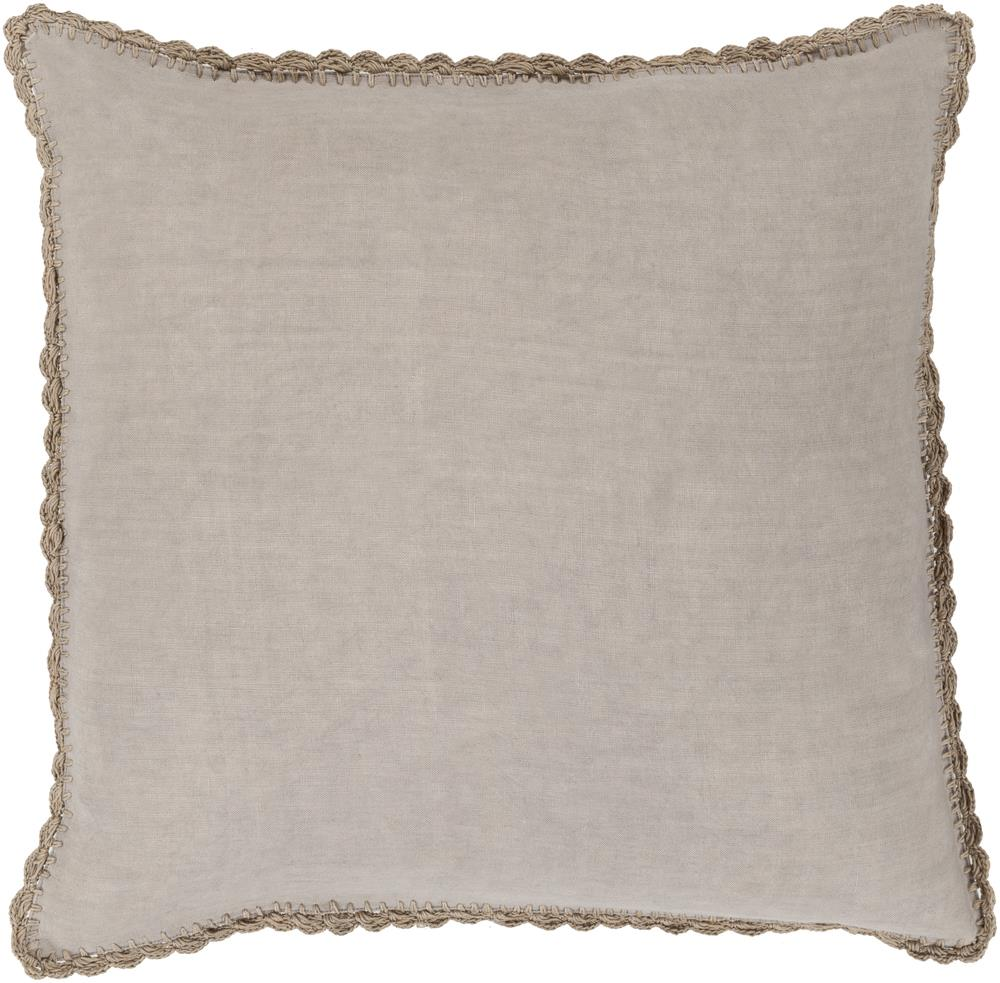 "Surya Pillows 20"" x 20"" Decorative Pillow - Item Number: EL002-2020P"