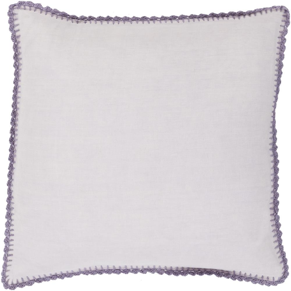 """Surya Pillows 22"""" x 22"""" Decorative Pillow - Item Number: EL003-2222P"""