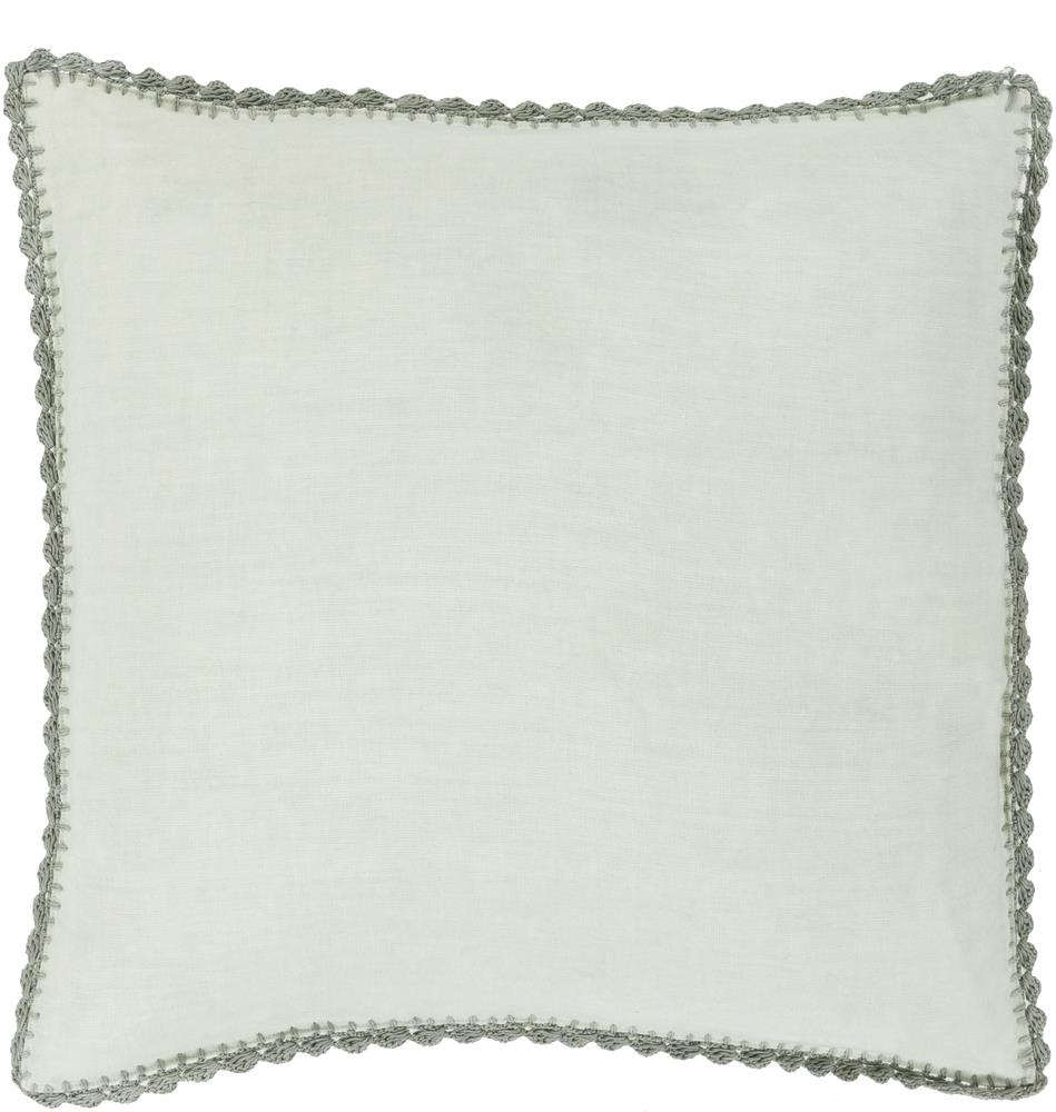 "Surya Pillows 18"" x 18"" Decorative Pillow - Item Number: EL004-1818P"