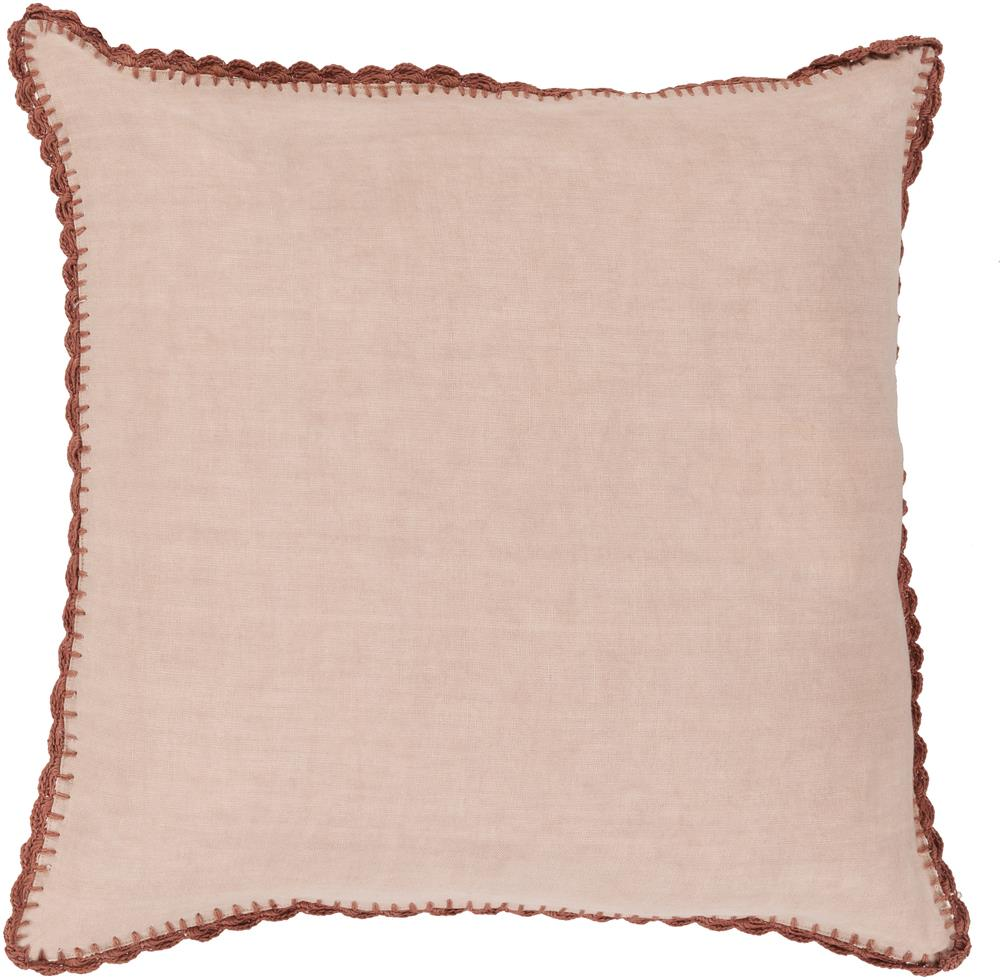 "Surya Pillows 18"" x 18"" Decorative Pillow - Item Number: EL005-1818P"