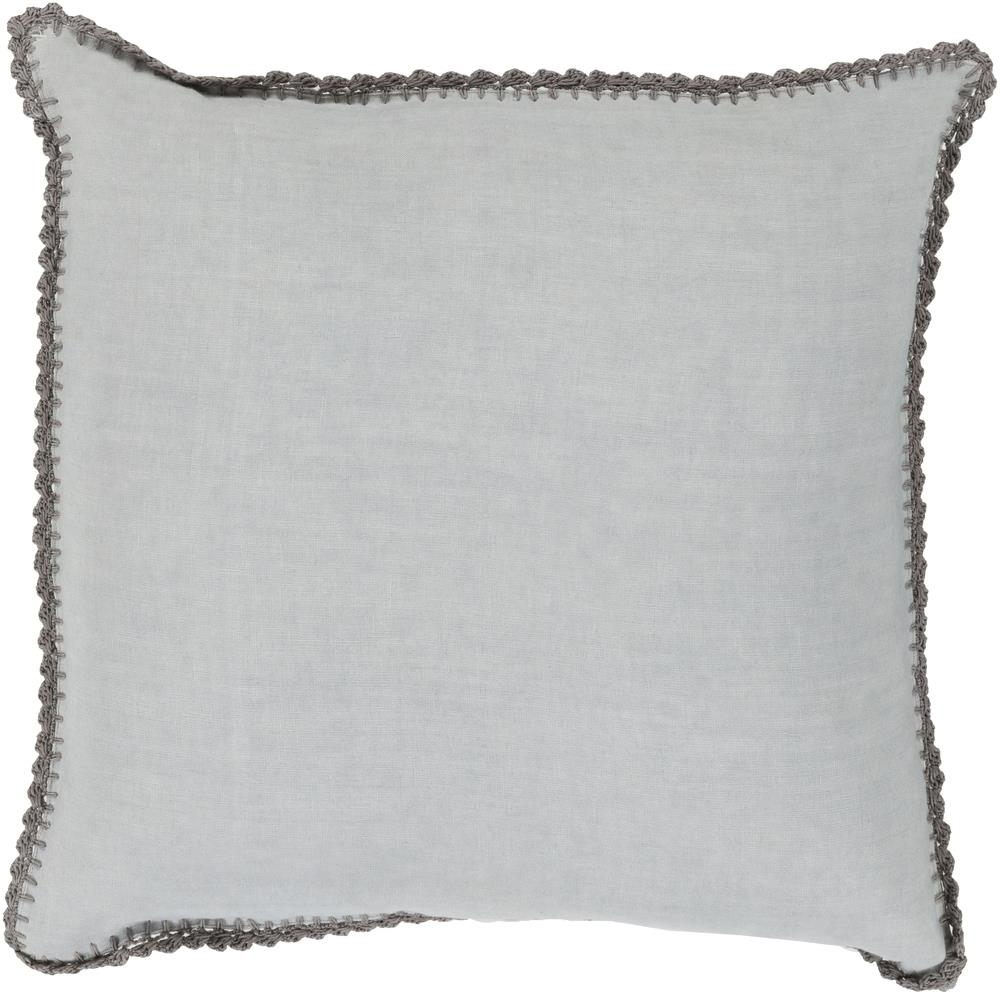 "Surya Pillows 20"" x 20"" Decorative Pillow - Item Number: EL006-2020P"