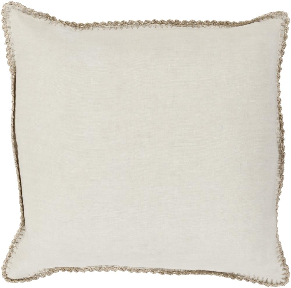 "Surya Rugs Pillows 22"" x 22"" Decorative Pillow - Item Number: EL007-2222P"