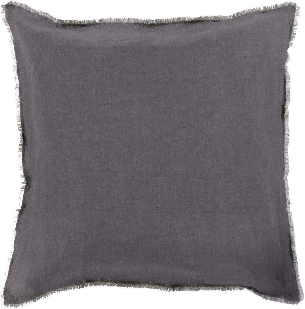 """Surya Pillows 22"""" x 22"""" Eyelash Pillow - Item Number: EYL004-2222P"""