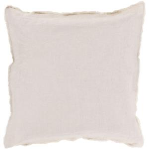 "Surya Pillows 18"" x 18"" Eyelash Pillow"