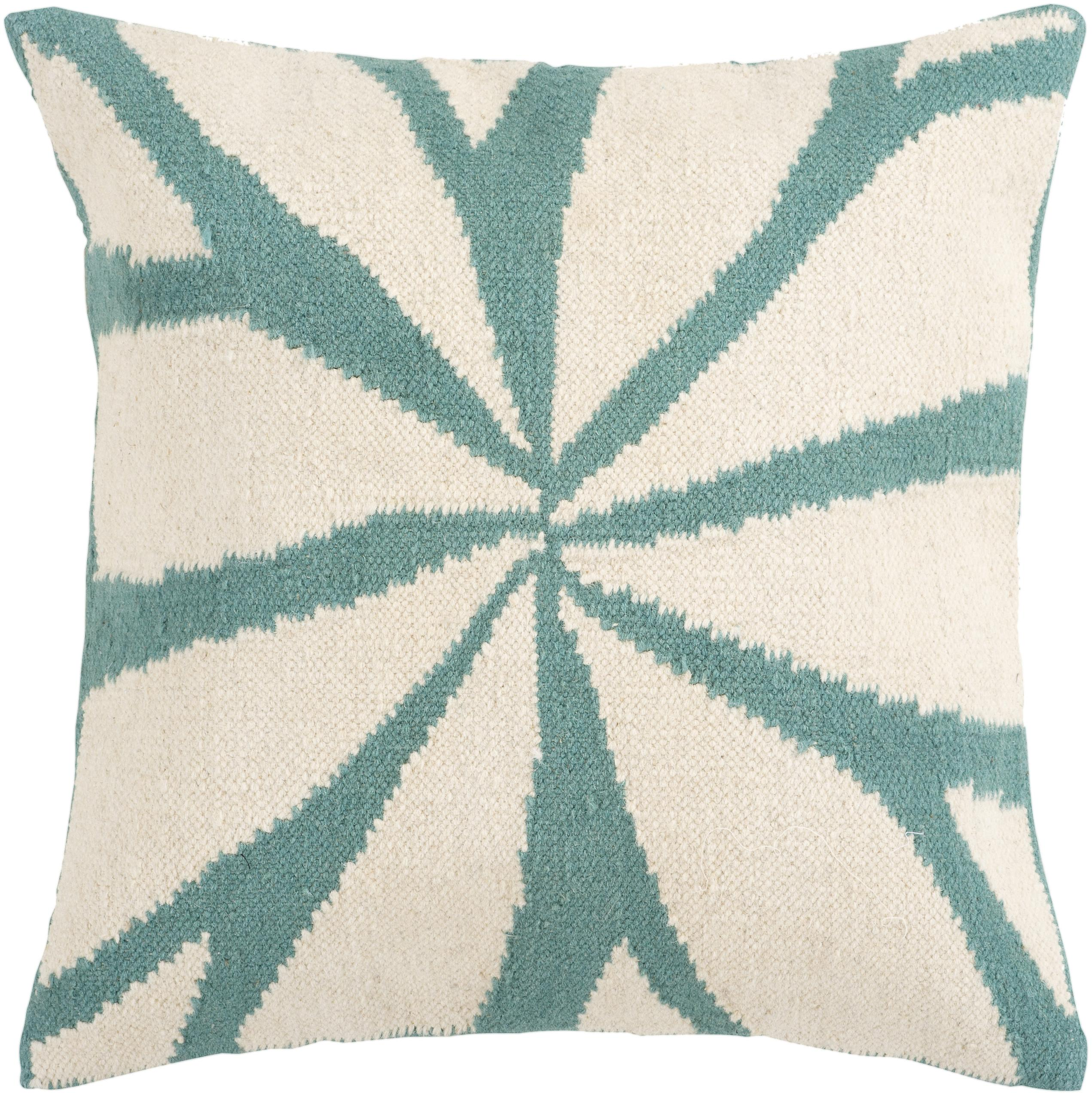 "Surya Pillows 22"" x 22"" Pillow - Item Number: FA003-2222P"