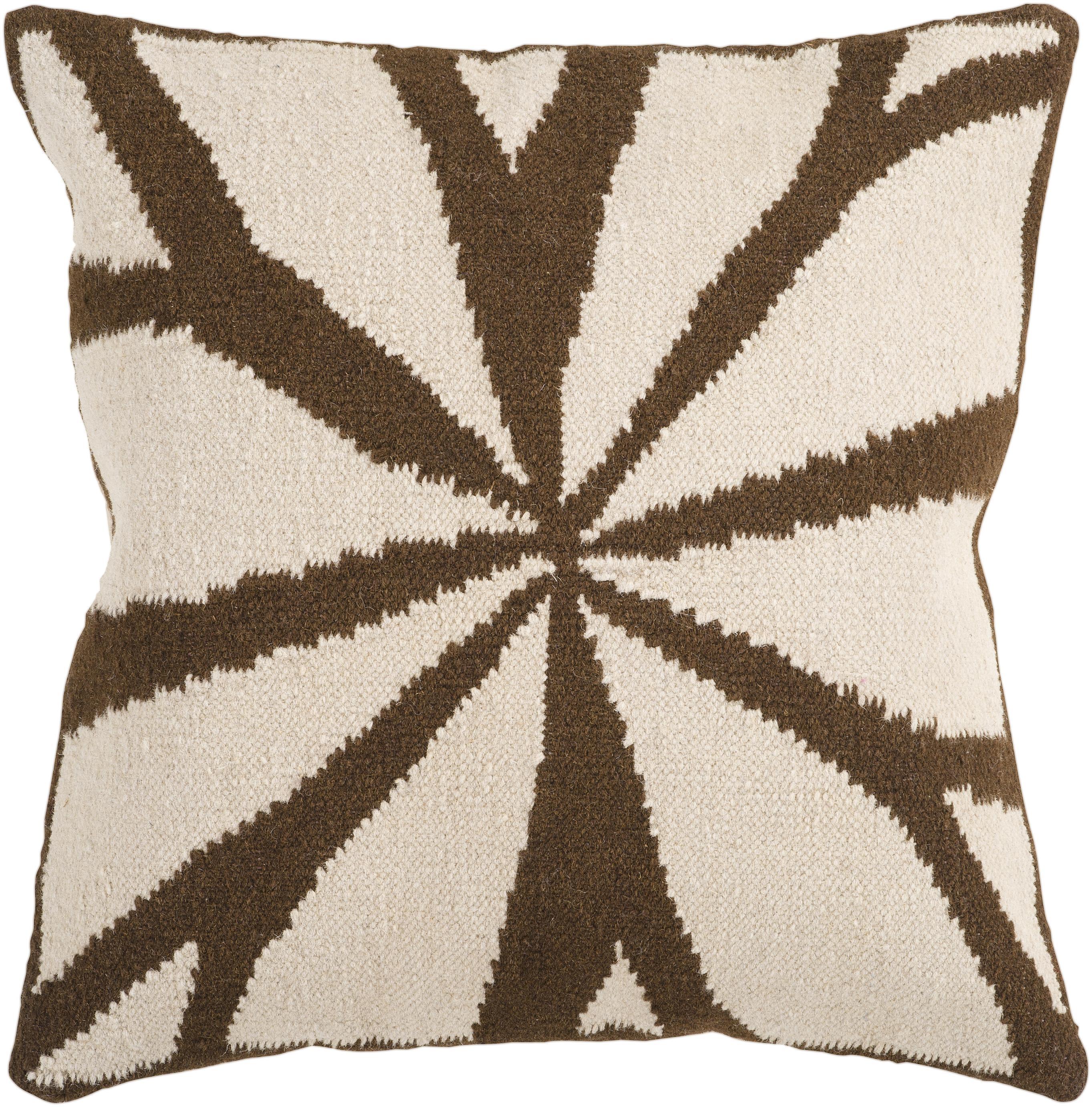 """Surya Rugs Pillows 18"""" x 18"""" Pillow - Item Number: FA011-1818P"""