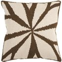 "Surya Rugs Pillows 18"" x 18"" Pillow - Item Number: FA011-1818P"