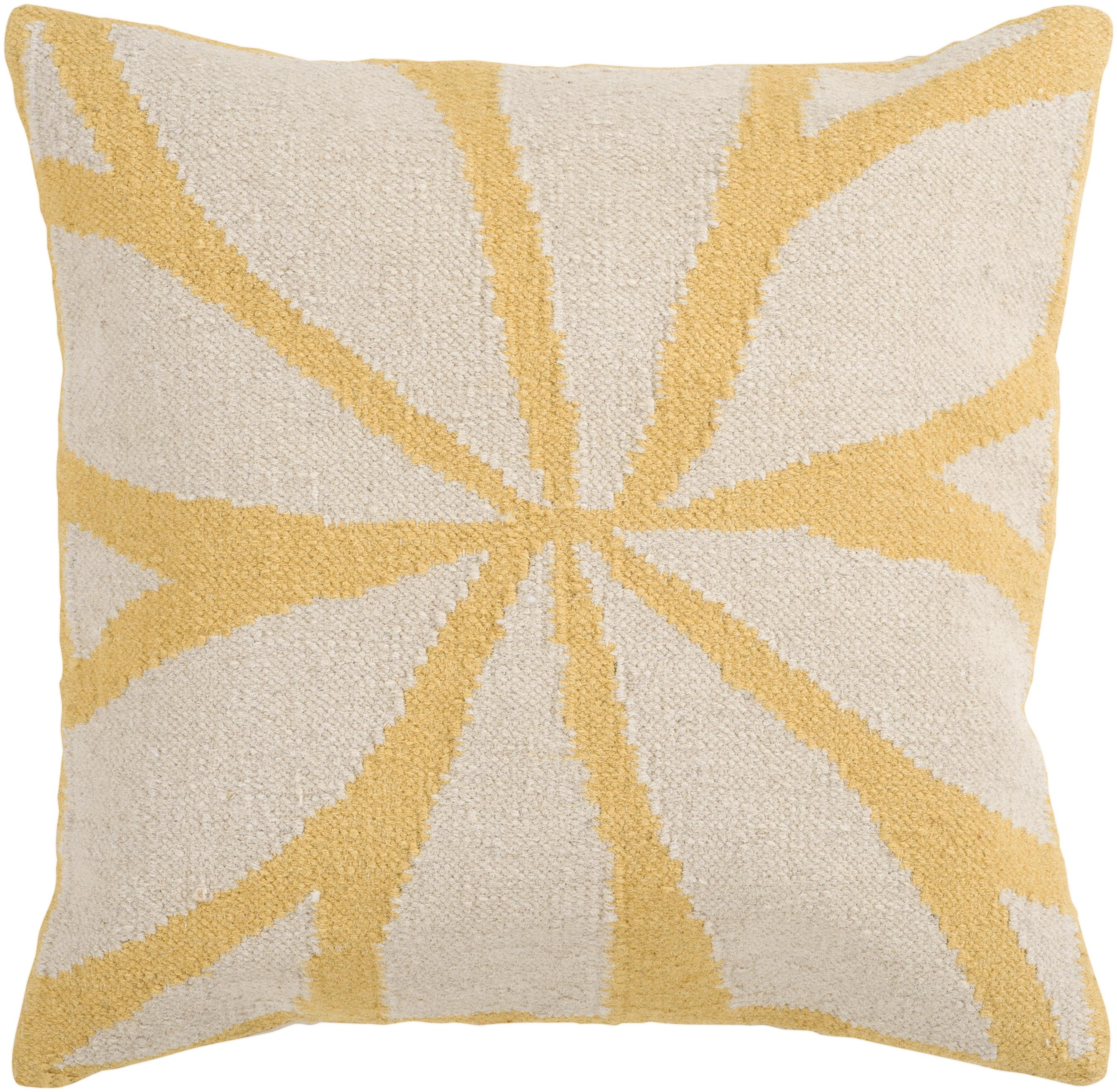"Surya Pillows 18"" x 18"" Pillow - Item Number: FA012-1818P"