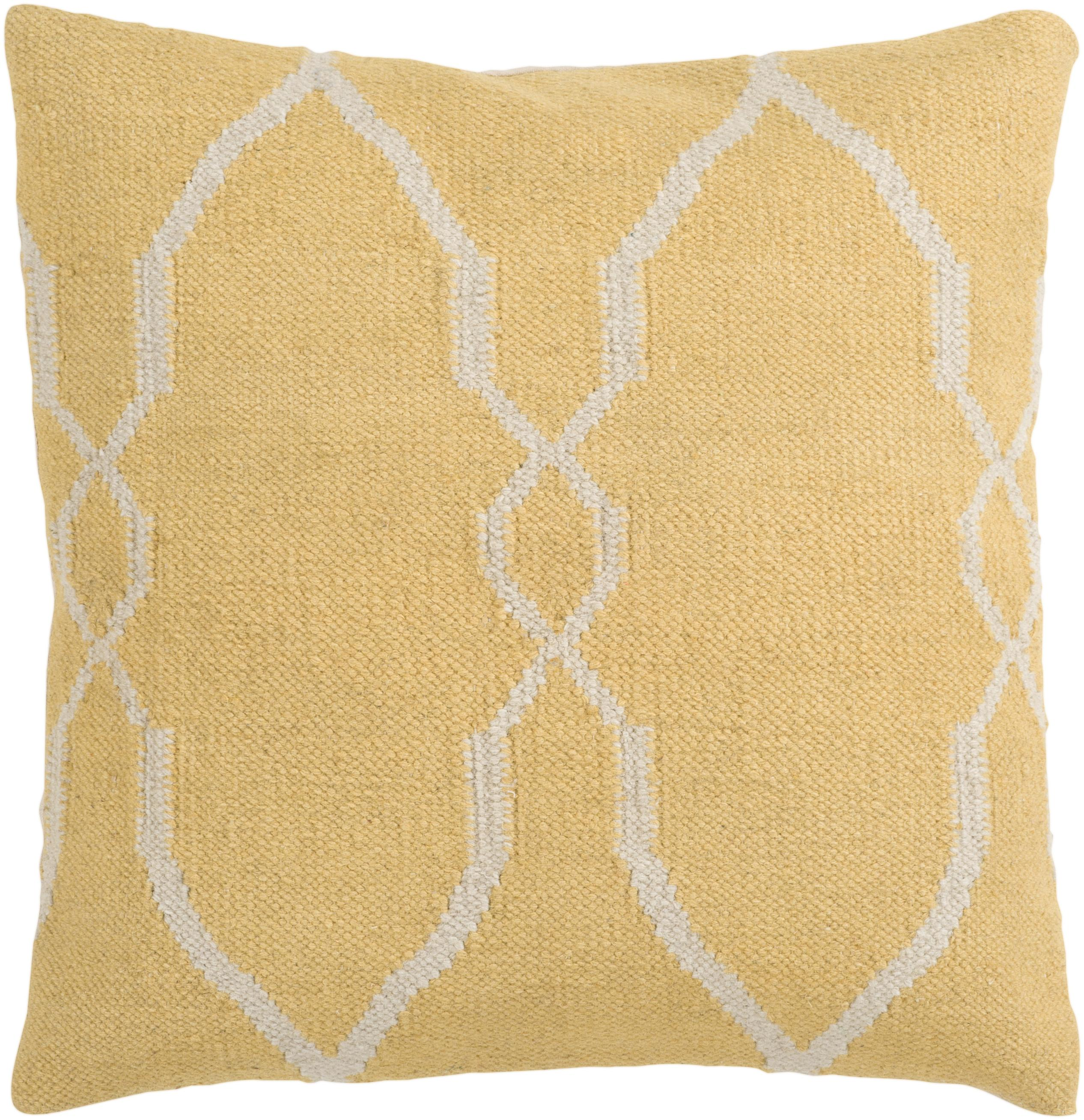 "Surya Pillows 22"" x 22"" Pillow - Item Number: FA017-2222P"