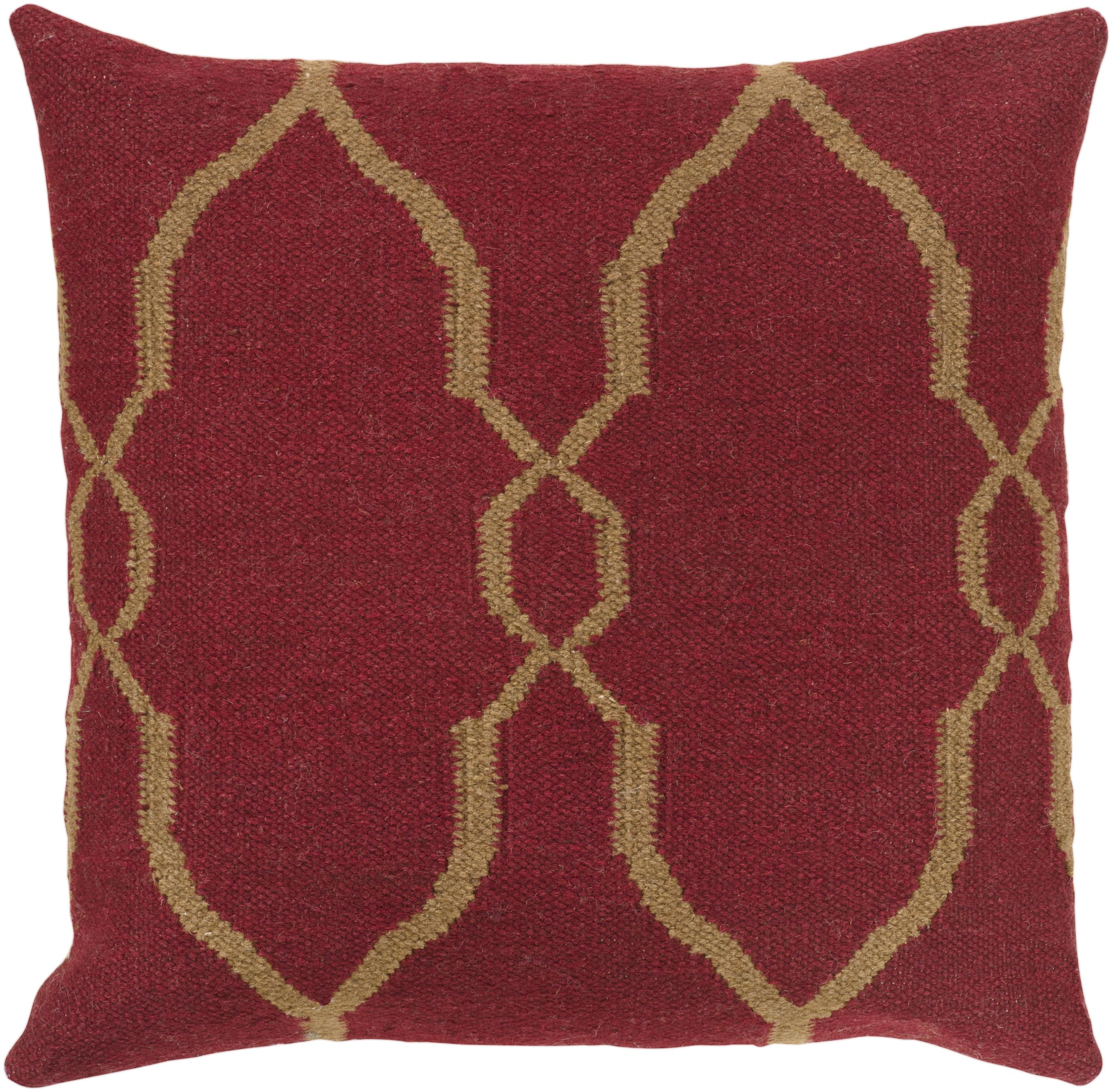 "Surya Pillows 18"" x 18"" Pillow - Item Number: FA019-1818P"