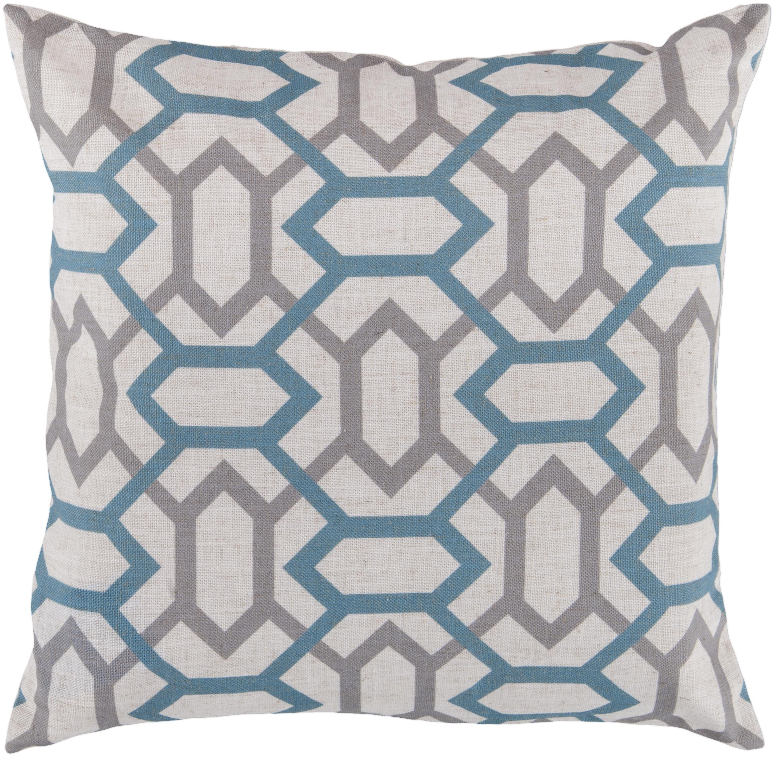 "Surya Pillows 18"" x 18"" Pillow - Item Number: FF008-1818P"