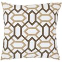 "Surya Pillows 18"" x 18"" Pillow - Item Number: FF014-1818P"