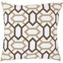 """Surya Pillows 22"""" x 22"""" Pillow - Item Number: FF014-2222P"""