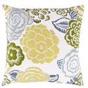"Surya Pillows 18"" x 18"" Pillow - Item Number: FF027-1818P"