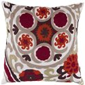"Surya Rugs Pillows 22"" x 22"" Pillow - Item Number: FF028-2222P"