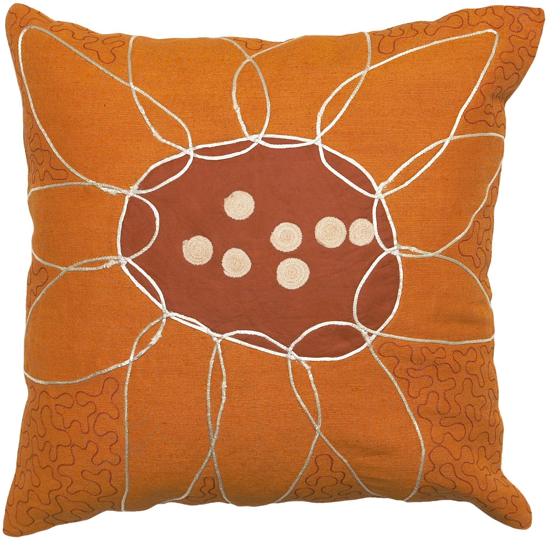 """Surya Pillows 22"""" x 22"""" Pillow - Item Number: FU2003-2222P"""